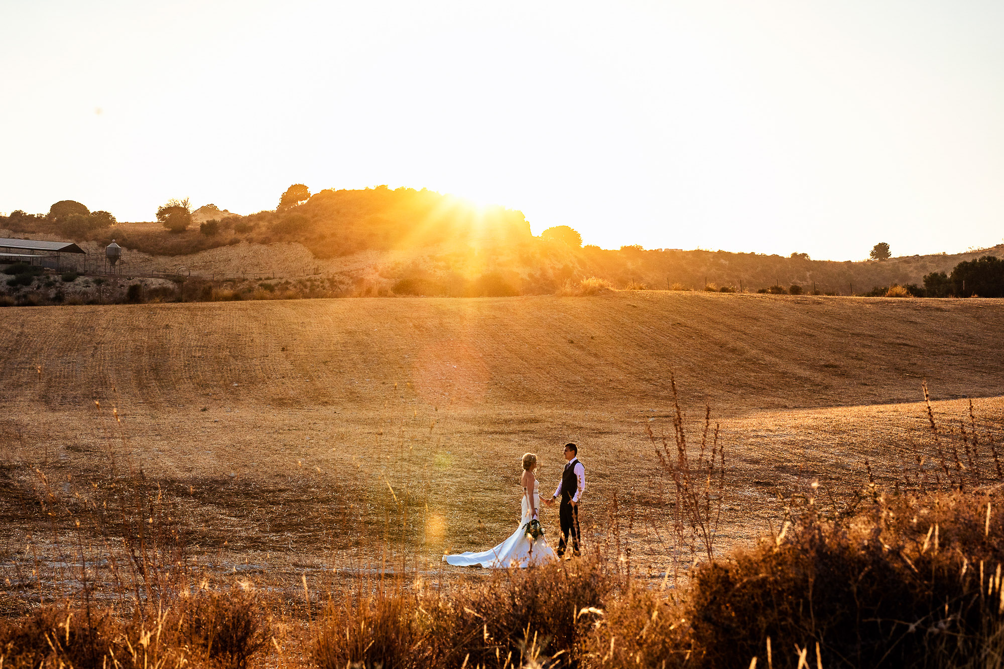 Bride and Groom Vasilias Paphos Cyprus Wedding