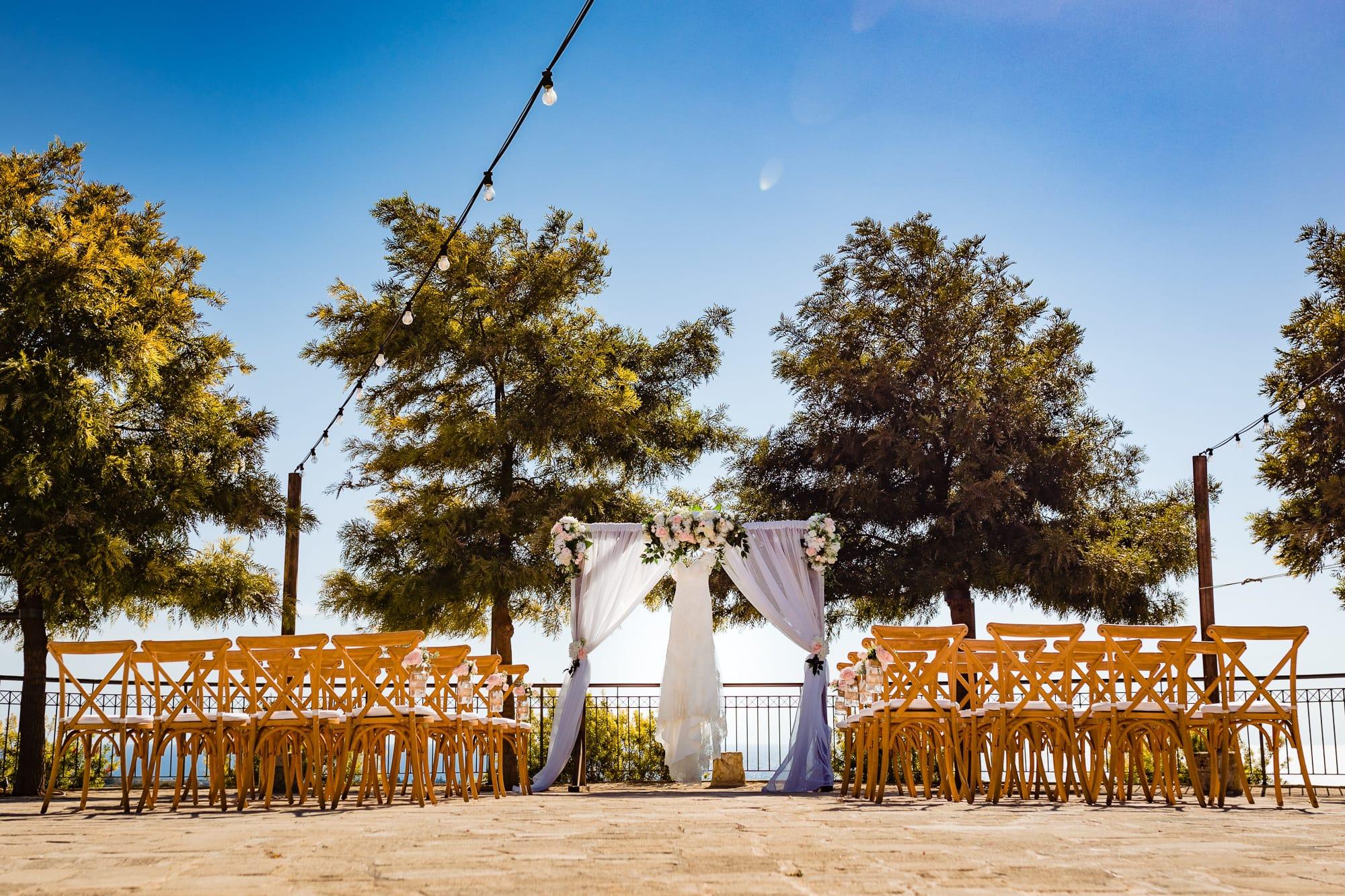 Bride and Groom Liopetro Venue Paphos Cyprus Wedding