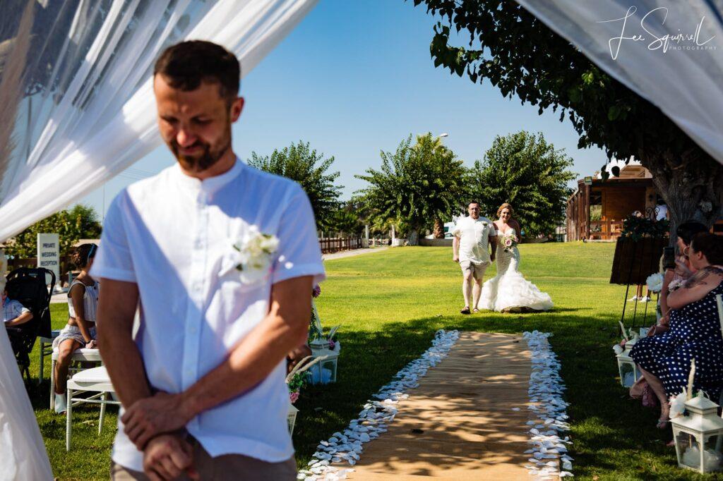 Atlantida Beach Paphos Cyprus Wedding Photographer